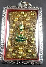 RARE PHRA SOMDEJ / EMERALD BUDDHA AMULET WAT PHRA KAEO TEMPLE BANGKOK