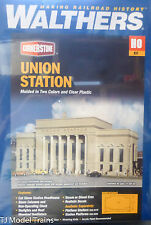 "Walthers HO #933-3094 Union Station -- Kit - 19-3/4 x 8-1/4 x 7"" (Building Kit)"