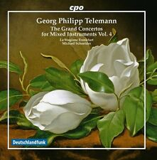 Telemann: The Grand Concertos for Mixed instruments, Vol. 4 [New CD]