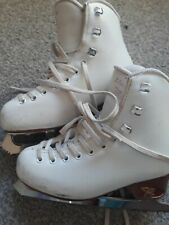 Risport ice skates with edea blades size 210 UK 12.5