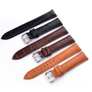 Men Women Genuine Leather Watch Strap Band Colour Collection Top