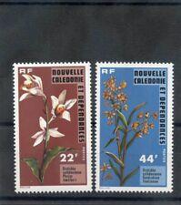 NEW CALEDONIA Sc 425-6(YT 409-10)**VF NH 1977 FLOWERS $21