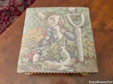 Beatrix Potter Peter Rabbit Upholstered Footstool