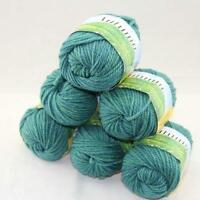 SALE Lot of 6x50gr Balls NEW Soft Worsted Wool Silk Warm Hand Knitting Yarn 223