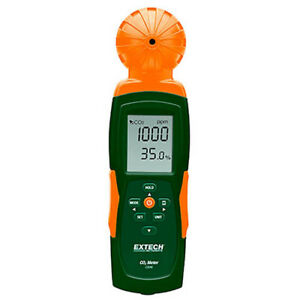 Extech CO240 Indoor Air Quality Carbon Dioxide (CO2) Meter