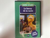 BARRIO SESAMO DVD LA FUERZA DE LA RAZON JUNTOS PODEMOS