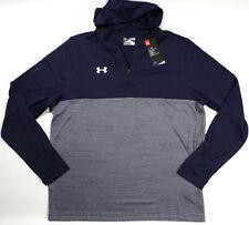UNDER ARMOUR HeatGear Tech 1/4 zip Loose hoodie- XL- NEW-lightweight sweatshirt