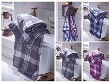 Karierte Hand-, Bade-& Saunatücher für Handtücher
