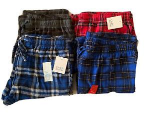 Croft & Barrow Men's Flannel Sleep Pants Size M, L, XL - NWT