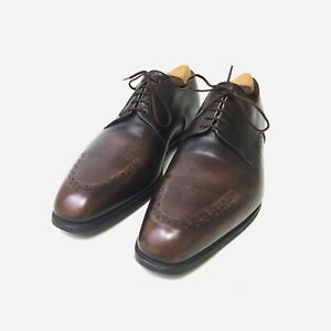 J.M.Weston Derbys. Brown Calf Leather. Size 8.5 UK, 42.5 EU