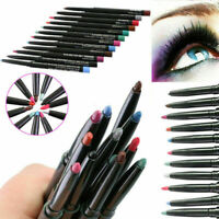 12 Professional Waterproof Eye Shadow Lip Eyeliner Pen Pencil Makeup Set Party