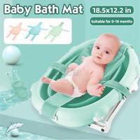 Baby Bath Pad Non-Slip Bathtub Mat NewBorn Safety Security Bath Seat Support -