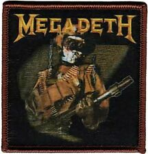 MEGADETH - SO WHAT SOLDIER - Hard Metal Thrash Rock N' Roll Band Iron - On Patch