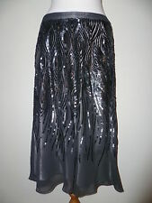 Planet black / grey  sequince skirt size 12 BNWOT