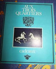 """Catalogue cadeaux   """"Aux trois quartiers""""   1968 / 1969"""