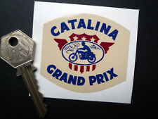 CATALINA GRAND PRIX motorcycle or car sticker Triumph Desert sled Gold Star etc.