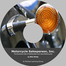 Motorcycle Sales Training - Business Side of Selling eBook on CD