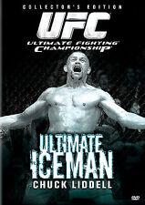 UFC Presents: The Ultimate Iceman - Chuck Liddell (DVD, 2006) WORLD SHIP