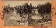 Versailles Petit Trianon Maison du Seigneur Lac Vintage Stereo Albumine