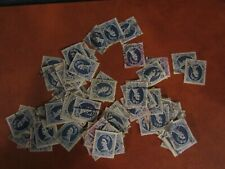 100 USED 1/6 blue WILDINGS STAMPS