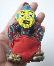 Bamileke Cameroon Ethnic Fertility Beaded Doll Handmade Original Vintage ~D2