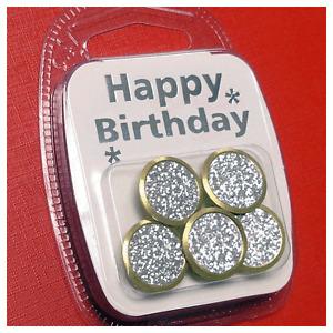 Golf Ball Marker Packs - Birthday Sparkle (5 pack)
