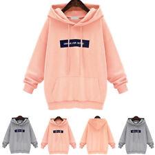 Women Hoodies Casual Sweatshirt Winter Ladies Baggy Hooded Jumper Coat Oversized