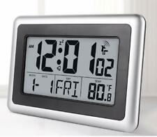Digital Atomic Desk & Wall Clock With Date Indoor Temperature 7 language Home US