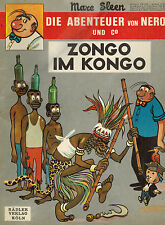 Marc Sleen, Abenteuer von Nero + Co., Band 6, Zongo im Kongo, Comic, Rädler 1972