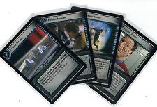 Star Trek CCG Decipher 2nd In A Mirror Darkly: 3x Rare Cards freie Auswahl Lot