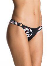 Roxy Blowing Mind Mini Anthracite Mistery Floral Bikini Bottom Small ERJX403332