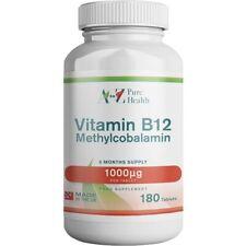 A to Z Puro salud de vitamina B12 1000mcg, 180 comprimidos