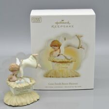 2009 Love Fresh From Heaven Ornament Special Lighting Feature NEW (DH)