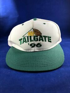 Vintage 1996 Nissin Green Bay Packers '96 Tailgate Cap Hat Embroidered Snapback