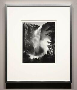 Ansel AdamsSilver Gelatin Photo Bridalveil Fall, Yosemite National Park 1927 AR