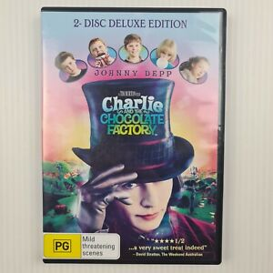 Charlie and the Chocolate Factory 2 Disc DVD - Johnny Depp, Freddie Highmore -R4
