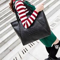 Mode Damen Groß Tasche PU Leder Handtasche Schultertasche Umhängetasche 1