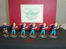 Painted Lead 1:32 6-10 Toy Soldiers