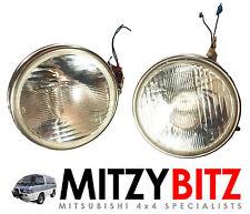 MITSUBISHI DELICA PAJERO L200 SPORT CHROME BEZEL SPOTLIGHTS