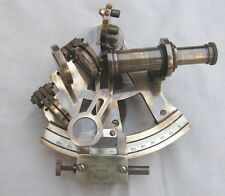 "4""Solid Brass Sextant Replia Kelvin & Hughes London 1917 Marine Nautical Sextant"