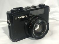 """""""AS-IS"""" Yashica Electro 35 GX black Rangefinder Camera 40mm f1.7 From Japan"""