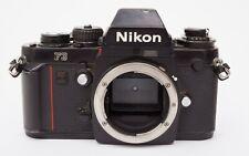 Nikon F3 Camera body W/ Body Cap & Strap SLR Film 35mm F2 F 3 FM F4 f5 f3t p f3p