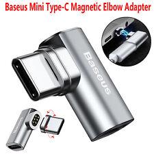 Baseus Usb-C de tipo C codo de Carga Rápida Magnético Adaptador Convertidor Para MacBook