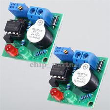 2X 12V On-Board Battery Low Voltage Alarm Buzzer Under Voltage Protection Module
