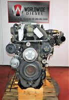 Detroit DD15 Diesel Engine Take Out, Turns 360, Complete, Good For Rebuild Only