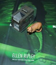 HOT TOYS ALIEN Ellen Ripley Jones Cat & Box 1/6 MMS366 di spazio