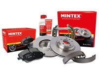 Mintex Front Rear Brake Shoe Set MFR45
