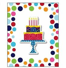 Creative Converting Birthday Cake Stand Invitations 8 Count