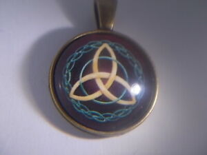 Beautiful Wiccan Celtic Knot, Astrological Protection Amulet,  Zodiac & Planets