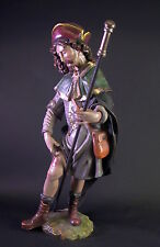 grosse Heiligenfigur - Hl. Rochus -  59cm - Holz geschnitzt & gefasst